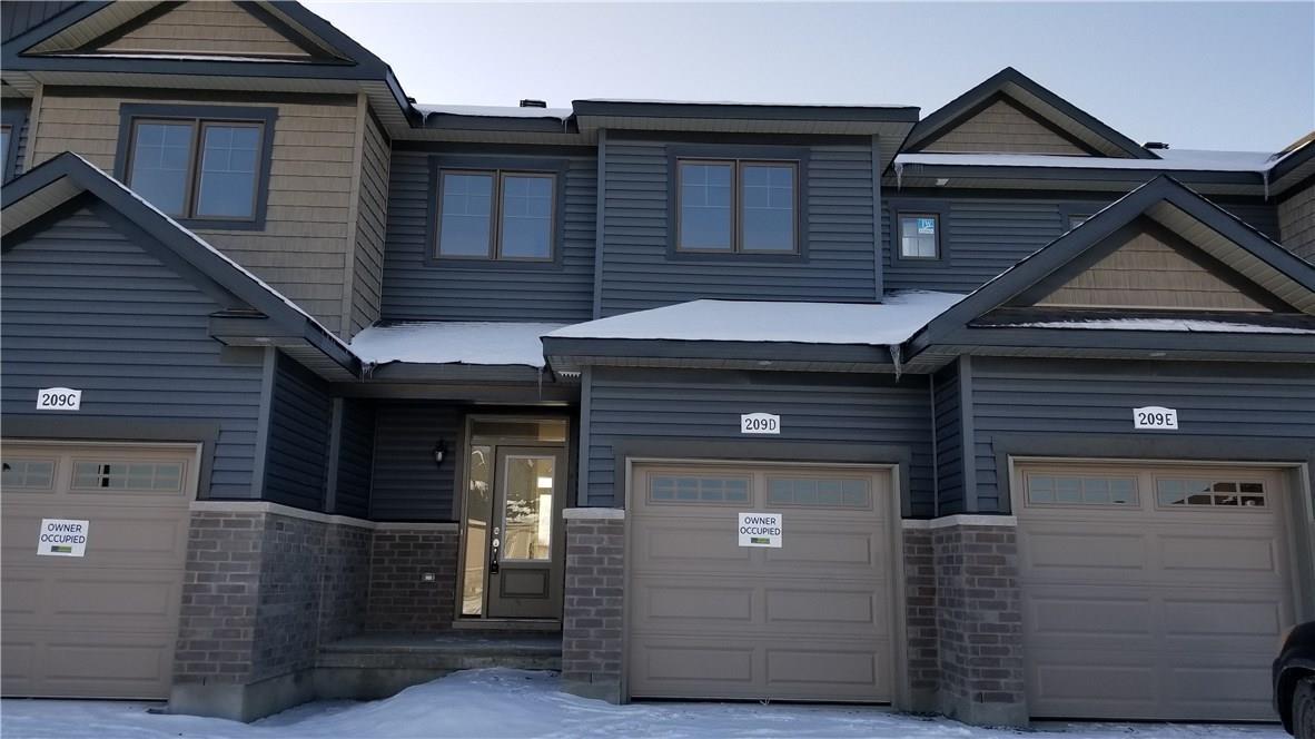 209D SHINNY AVENUE, ottawa, Ontario