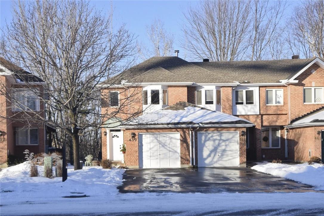 439 WINCANTON DRIVE, orleans, Ontario