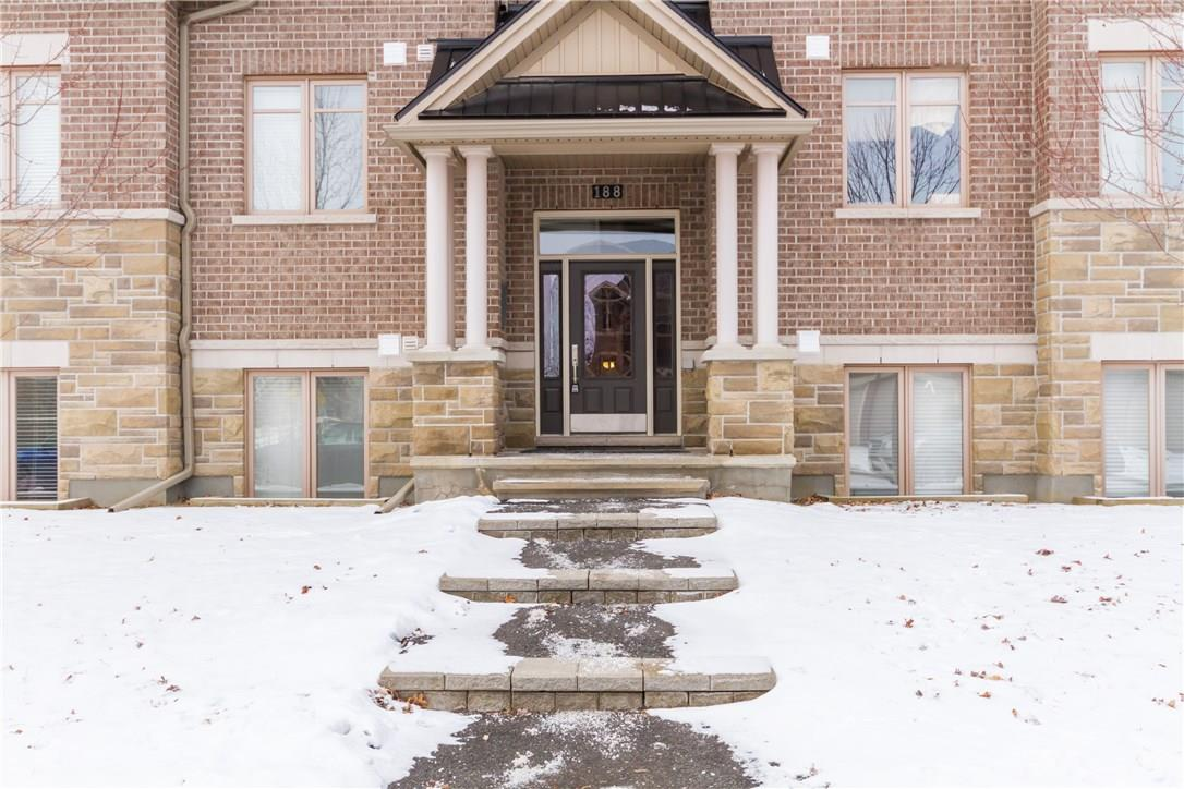 188 HORNCHURCH LANE UNIT#G, ottawa, Ontario